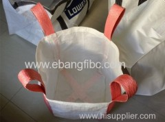 4 loops full open top flat bottom simple practical big bag FIBC