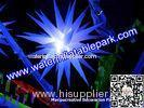 Suspended Romantic Background Stage Decoration Inflatable LED Lighting Star