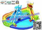 Cool Inflatable Water Park Equipment , Resort With Waterpark