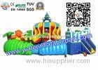 Exciting Exhibition Combo Backyard Inflatable Water Park With Big Slide Bouncer