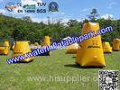 Game Inflatable Paintball Bunker , Paintball Inflatable Bunkers
