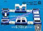 0.9mm PVC Tarpaulin Southport Inflatable Water Park with High Tensile Strength