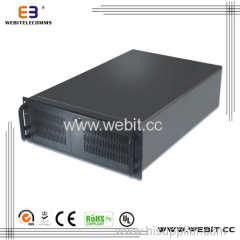 zinc plated 4u industrial sever case