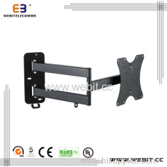 "up to 46"" with long arm 180 degrees Tv wall mount bracket"