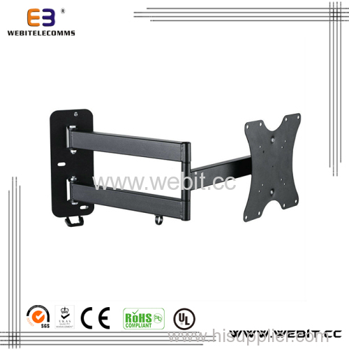 """up to 46"""" with long arm 180 degrees Tv wall mount bracket"""