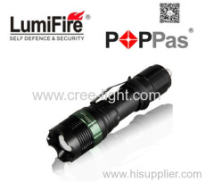 Rechargeable Aluminium 150 lumens CREE XPE Led Bulb PoliceLed Flashlight Torch