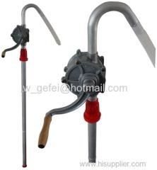 Aluminum Rotary Hand Oil Pump / Rotary Hand Pump