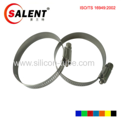 """3.75""""/95mm Turbo Silicone Hose T-Bolt Clamp 102mm-110mm 301 Stainless Steel"""