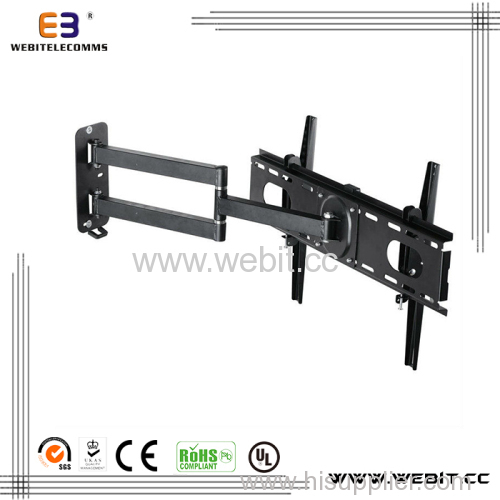 """up to 37"""" with 180 degrees swivel+Tv wall mount bracket"""