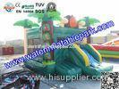 PVC Tarpaulin Inflatable Jumping Bouncy For Commercial Rental