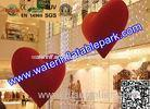 1m Heart Inflatable Decoration , Hanging Inflatable Wedding Decorations