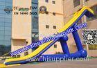 Giant Pool Slides Inflatable Water Games With PVC Tarpaulin