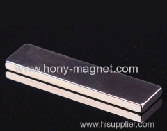 Sintered Rare Earth Neodymium Block Magnet