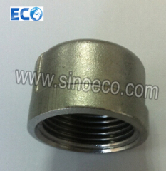 Female Regular Caps, Stainless Steel 304 or 316 Pipe Fitting, Screw Cap