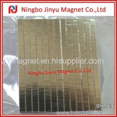 block magnete with nickel coat