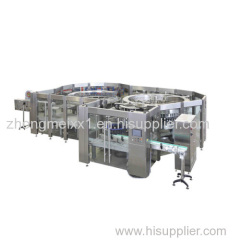 Automatic Mineral / Soda Water Filling Machine 5000 BPH 12 Heads