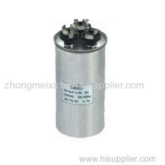 CBB65 Series 30+1.5uf Aluminum Case motor run capacitor especially for air conditioner