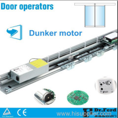 Automatic Tempered Glass Sliding Door