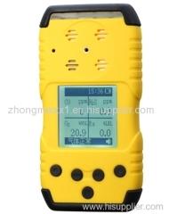 CO O2 H2S EX portable multi gas detector analyzer