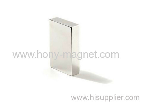 Customised Square Neodymium Block Magnet.