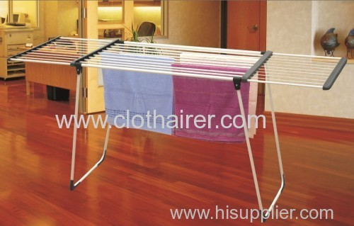 metal clothes rack indoor