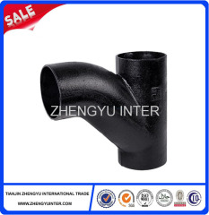 Grey iron drain water pipe parts price