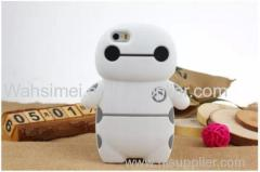 Hot selling Baymax phone case cover for iPhone 6 wholesale Cartoon mobile phone protection shell