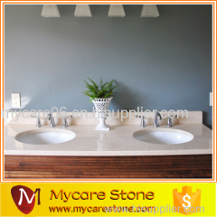 New arrival luxury crema marfil countertop for hotel
