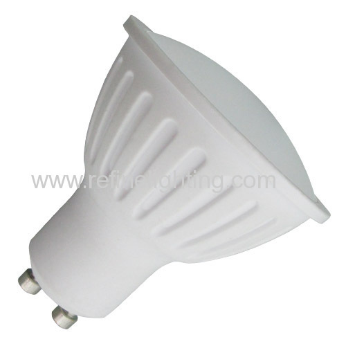 5W GU10 bub 90lm/watt PC alu. body 220-240V Ra>80 2015 new LED bulb