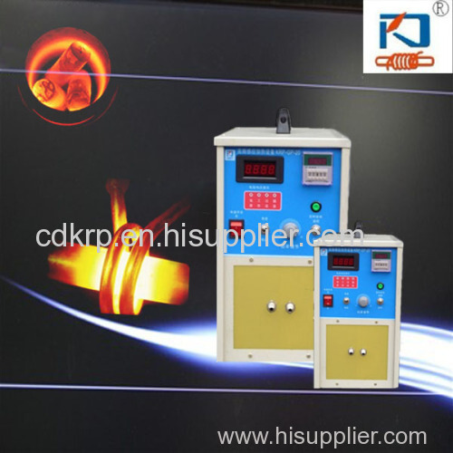 high frequency professional intermitten induction quenching machine