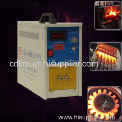 high frequency induction soldering machine