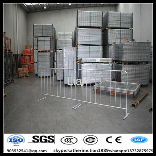 galvanzied crowd steel barrier