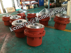 wheel drive gearbox for self propelled trailer