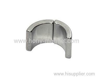 Motor Usage Arc Shape Neodymium Magnets