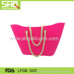 Fashionable silicone lady handbag