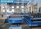 PBR / PBU Aluminium Roof Panel Roll Forming Machine 5.5 KW , Roll Forming Equipment