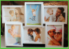 6 Photos Plastic Wall Hanging Photo Frames
