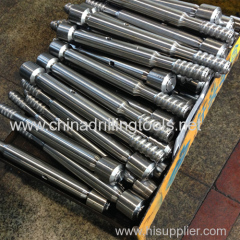 shank adapter for rock drilling tools