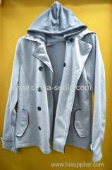 80%cotton 20%polyester mens jacket