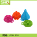 Collapsible folding silicone funnel