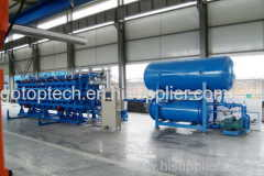 EPS block molding machine with vacuum for insulation board building
