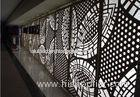 Custom Made Exterior Wall Cladding Perforated Aluminum Panels 4-30mm Thickness