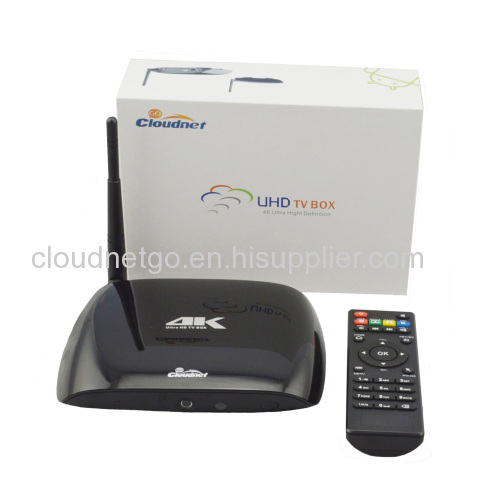 Tv remote with android box