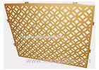 Lightweight Perforated Aluminum Panels Wall Cladding Decorative Aluminum Sheet