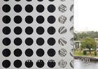 White Curtain Wall Perforated Aluminum Architectural Panels Decorative Aluminum Sheeting