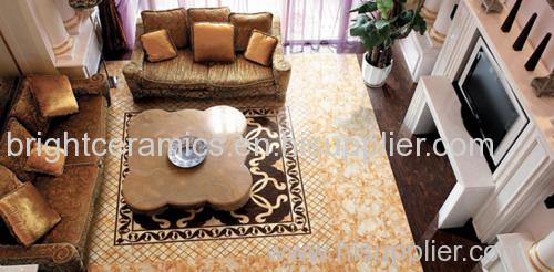 Gilding Glazed polished floor tiles ceramice carpet floor tiles