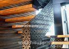 Custom 1.5mm / 2.5mm Decorative Perforated Aluminum Sheet Architectural Cladding Panels