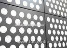 Durable Corrosion Resistant 3mm / 4mm Perforated Aluminium Plate For Partitions / Roofs