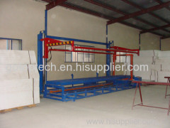 eps foam cutting machine or eps foam cutter for eps sheets insulation building
