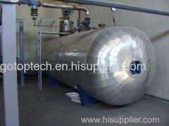 ressurized Steam Tank Accumulator met aangepaste capaciteit